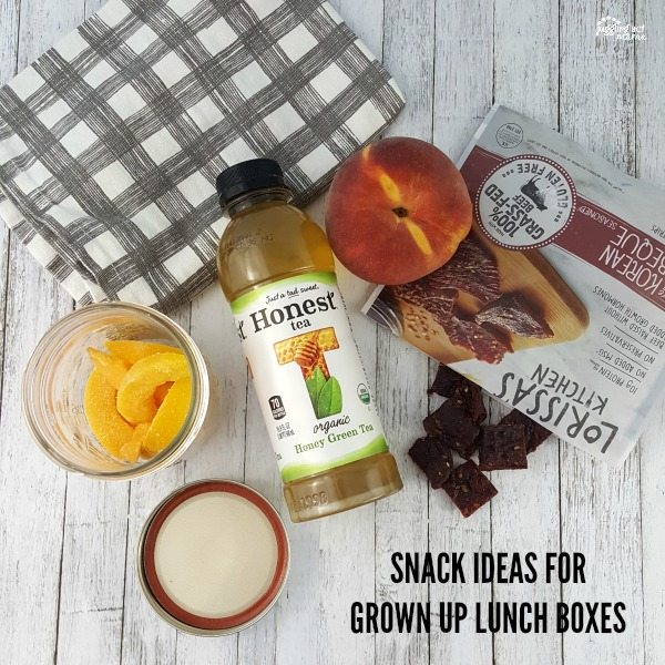Snack Ideas for Grown Up Lunch Boxes #SnackHonestly #ad