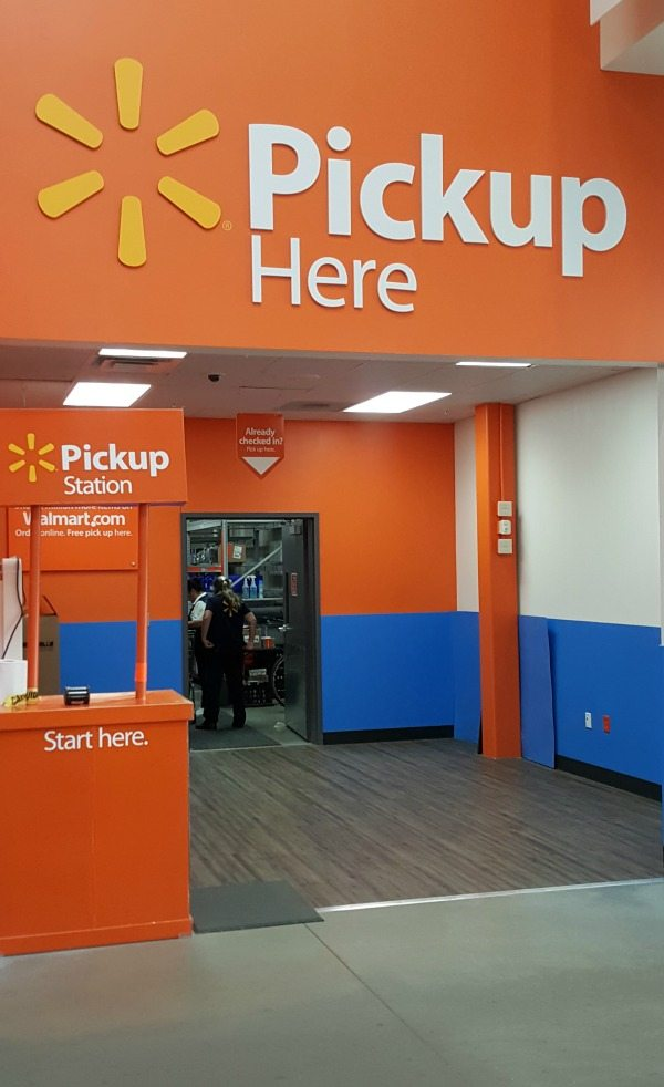 Walmart Free Pick Up #ad