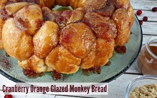 Cranberry Orange Glazed Recipe for Monkey Bread