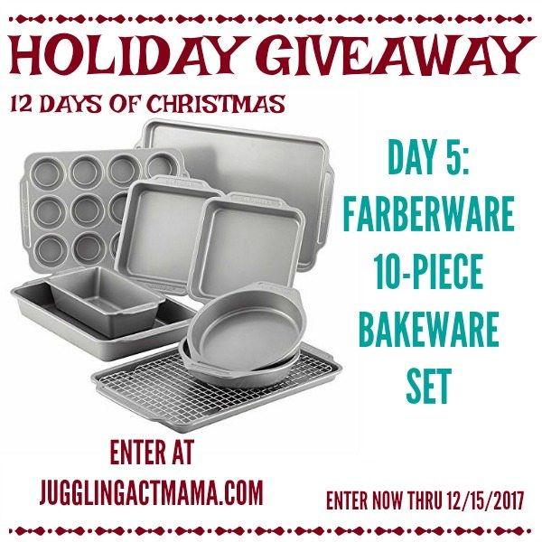 Farberware Baking Set Giveaway - 12 Days of Christmas