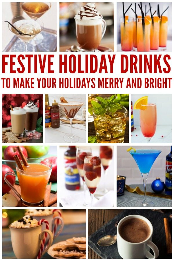 Festive Holidays Drinks to make your holiday merry and bright