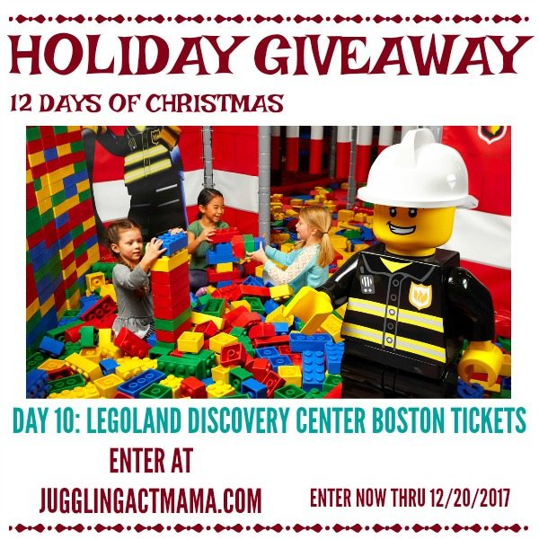 LEGOLAND Discovery Center Boston Holiday Giveaway