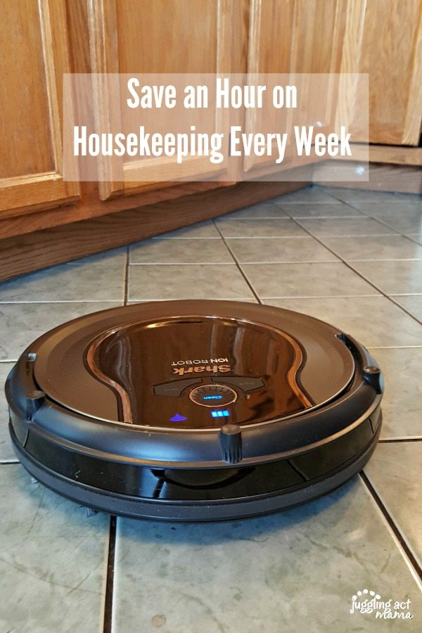 Save an Hour on Housekeeping Every Week #ad #SharkRobotVacuum