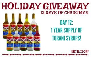 Festive Holiday Drinks + Giveaway