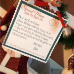Have your Elf deliver this memo - North Pole Toy Collection Printables