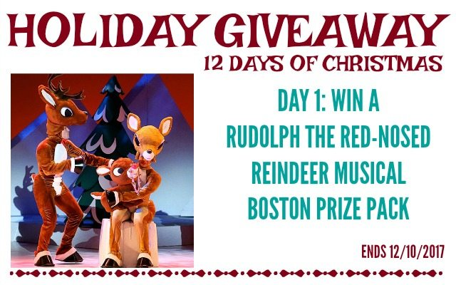Rudolph the Red-Nose Reindeer Giveaway - $382 value