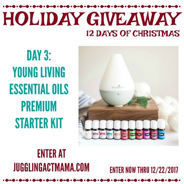 Young Living Essential Oils Holiday Giveaway