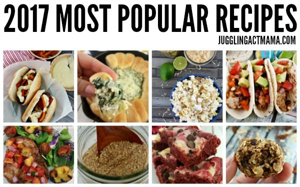 2017 Most Popular Recipes