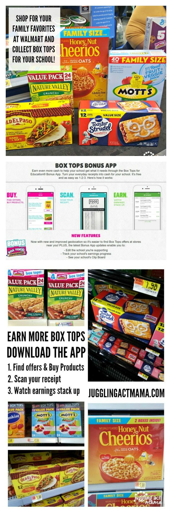 Earn more for your school with the Box Tops App #EarnWithBoxTops #CollectiveBias #ad