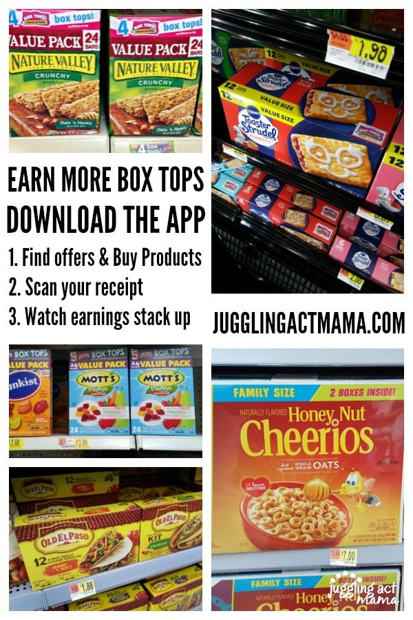 Earn more for your school with the Box Tops App #ad #EarnWithBoxTops #CollectiveBias