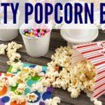 Movie Night Party + Popcorn Bar