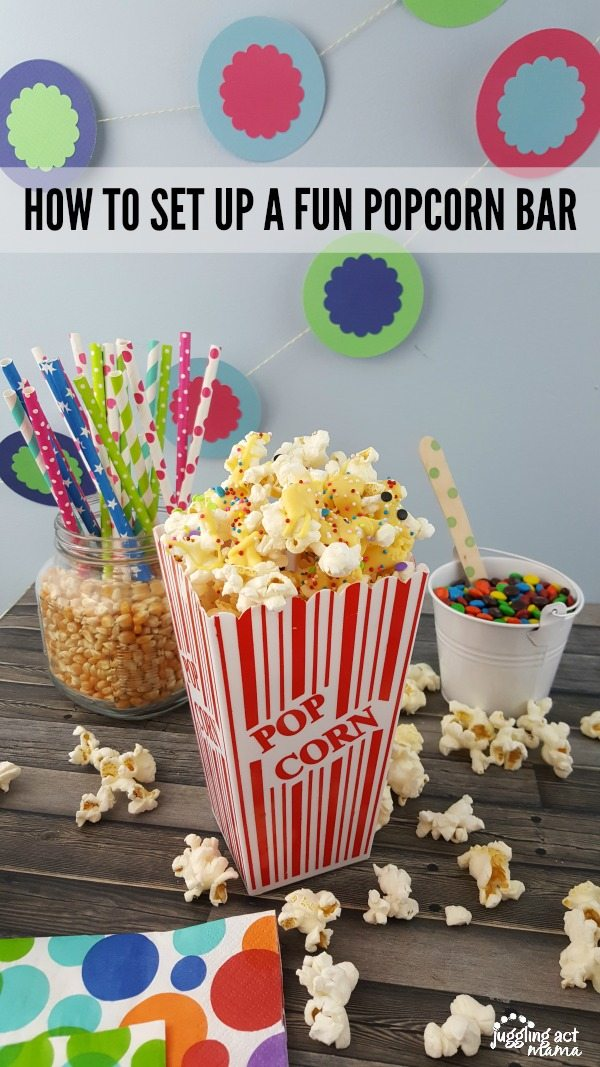 What's more fun than a Movie Night Party + Popcorn Bar