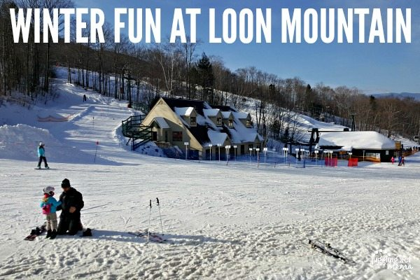 Winter Fun at Loon Mnt #ad #ichooseloon