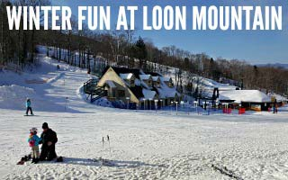 Winter Fun at Loon Mountain