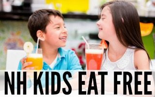 Where Kids Eat Free in NH