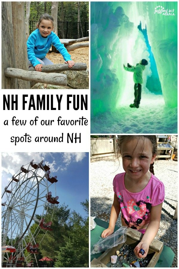 Some of our favorite spots in NH for family fun