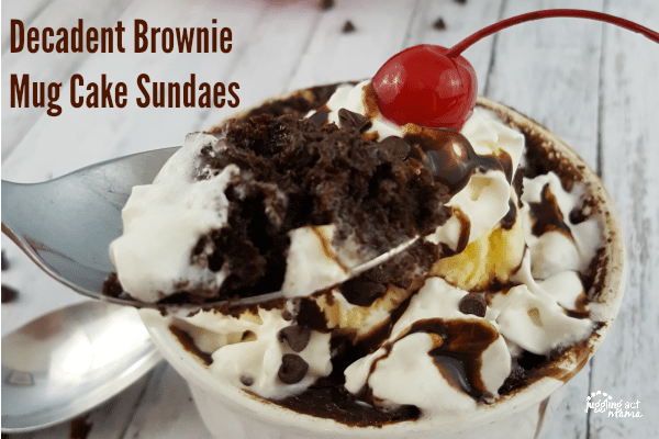 Decadent Brownie Mug Cake #ad #LoveBarleans