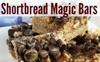 Magic Bars Recipe with Shortbread Crust