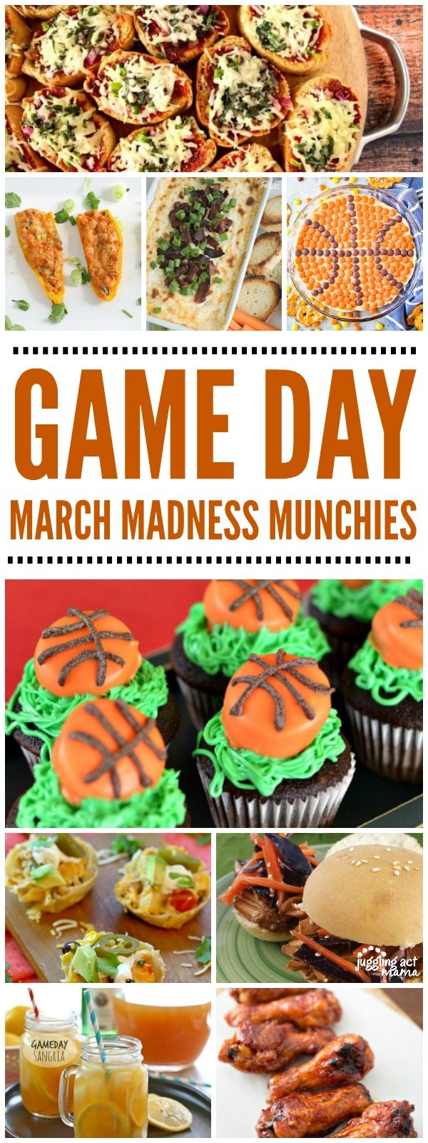 We've got plenty of Game Day March Madness Munchies for you to choose from! #gameday #MarchMadness #snacks