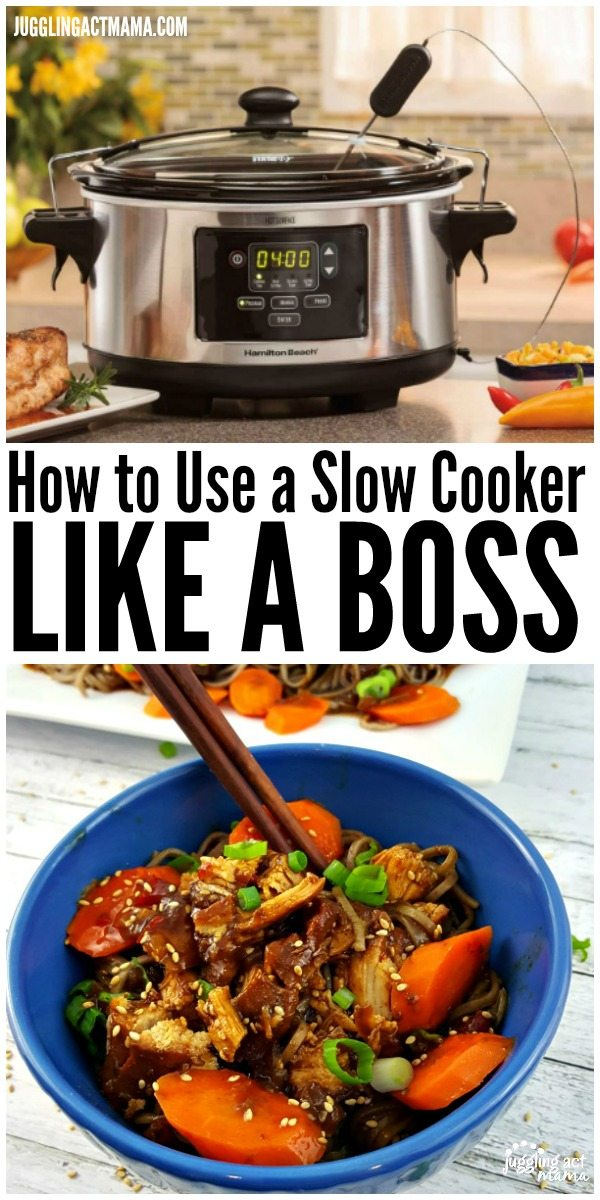 How to Use a Slow Cooker Like a Boss - recipes and tips to make the most of your #slowcooker! #weeknightmeals #easyrecipes