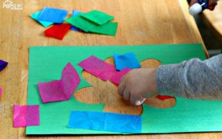 Stained Glass Tissue Paper Crafts