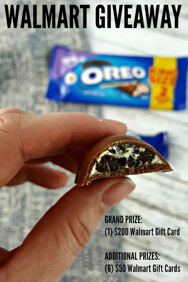 Hey Chocolate Lovers! Have you tried the new @OREO Chocolate Candy Bar yet? #ad Be Sure to enter the #Walmart #Giveaway for a chance to win a #Walmart Gift Card! #OREOChocolate #KingSizeRollBack #IC