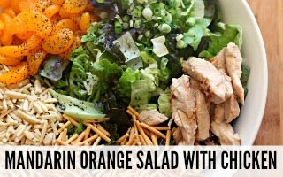 Mandarin Orange Salad with Chicken