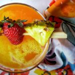 Fruity Summer Pineapple Cocktail