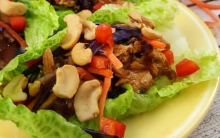 Easy Pork Lettuce Wraps Recipe