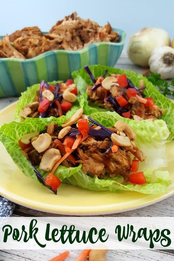 Delicious Pork Lettuce Wraps