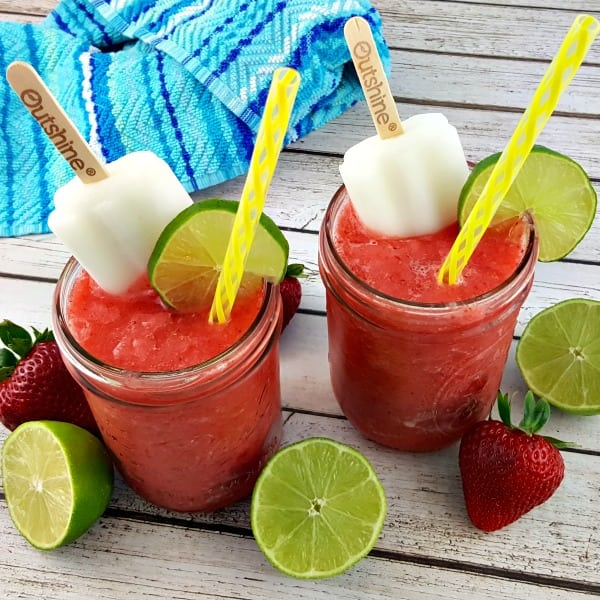 Strawberry Lemon-Lime Summer Coolers #ad