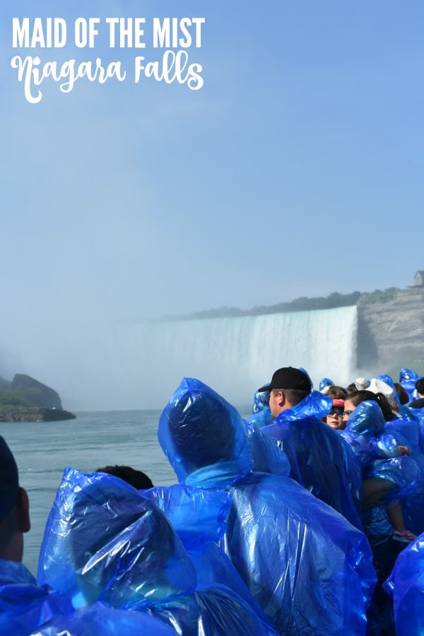 Niagara Falls Maid of the Mist #MaidoftheMist #AD #iconic