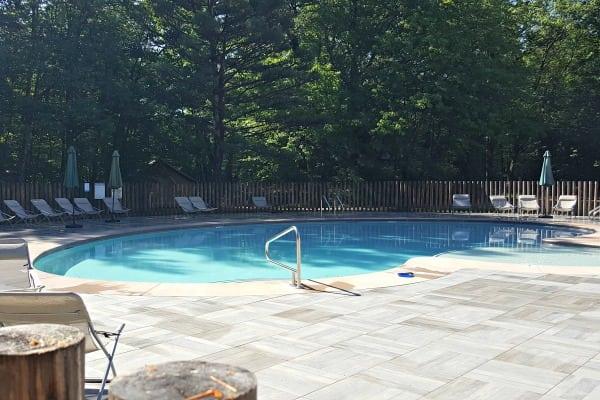 Pool at Huttopia