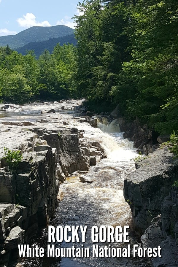 Rocky Gorge - White Mountains National Forest NH