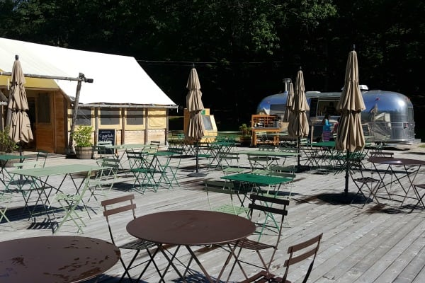Terrace at Huttopia - Luxury Camping #ad