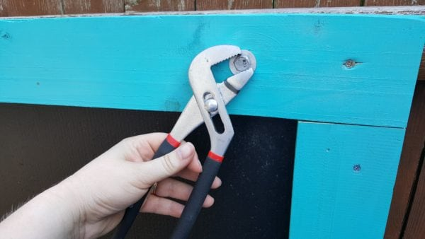 Outdoor Chalkboard Project: Step 14