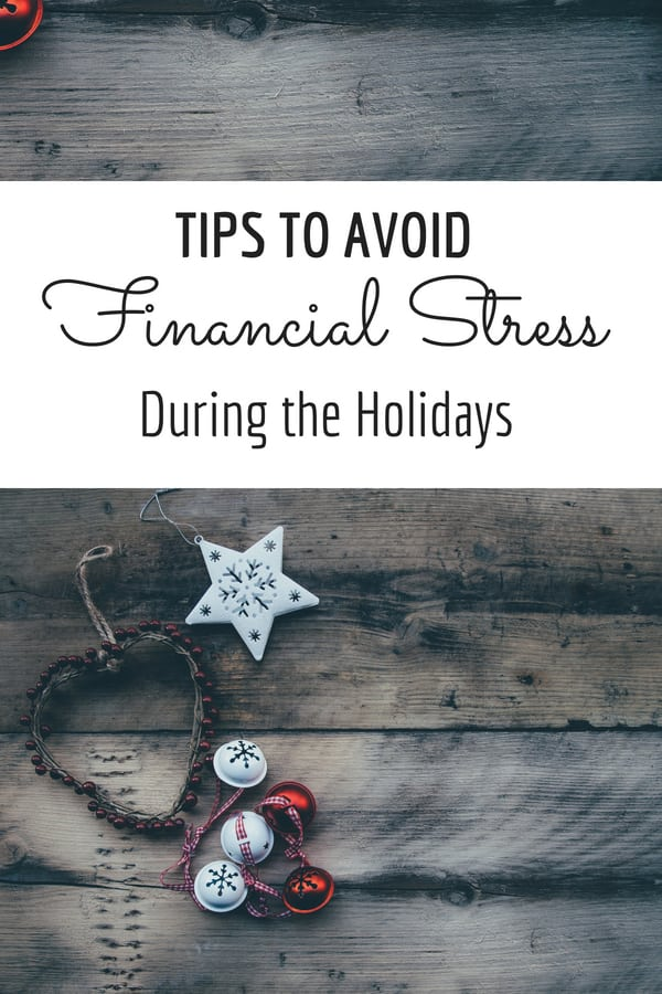 Tips to Avoid Financial Stress during the holidays Juggling Act Mama via @jugglingactmama