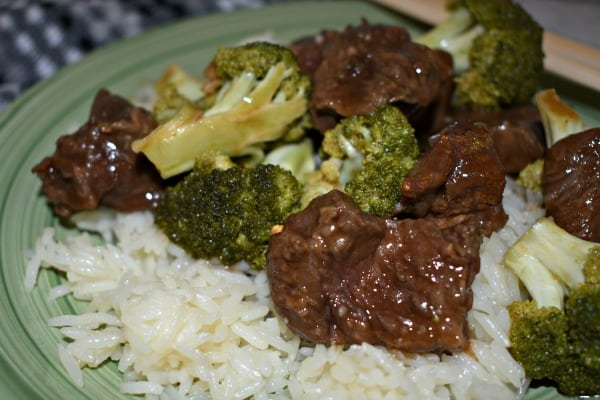 Beef and Broccoli #ad Hamilton Beach #SlowCookerB2Sgiveaway