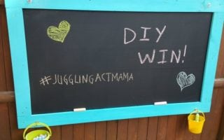Outdoor Chalkboard Project