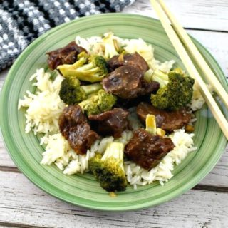 Slow Cooker Beef and Broccoli Recipe #ad Hamilton Beach #SlowCookerB2Sgiveaway