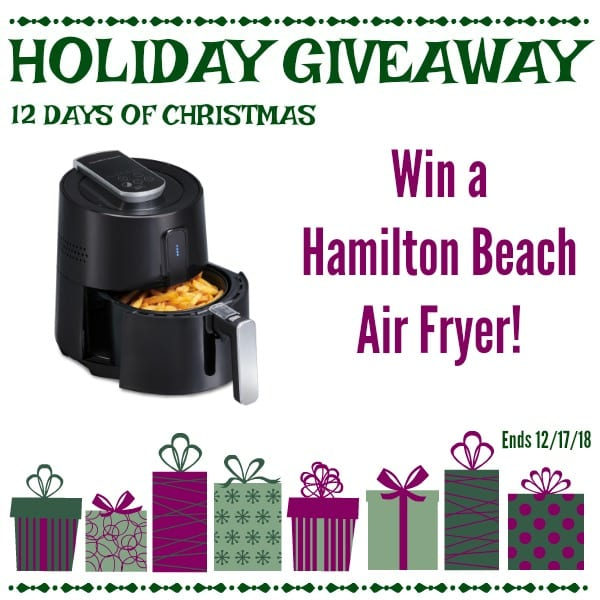 Day #6 - Air Fryer Giveaway - CLOSED