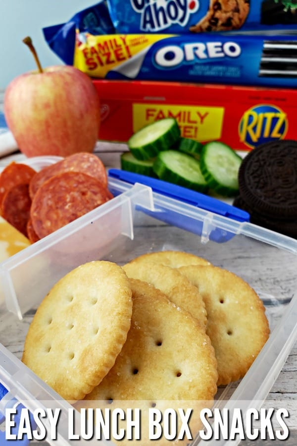 Easy Lunch Box Snacks #ad #CollectToWin