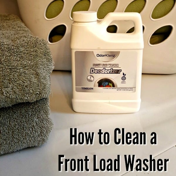 How To Clean Front Load Washer Tutorial Juggling Act Mama