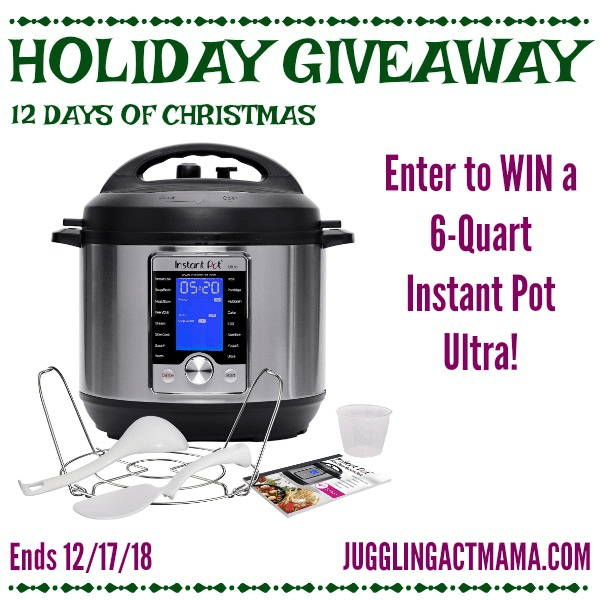 Holiday Giveaway for an Instant Pot
