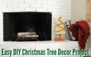 DIY Christmas Tree Decor Project
