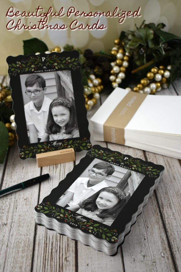 Beautiful Personalized Christmas Cards #ad #Minted