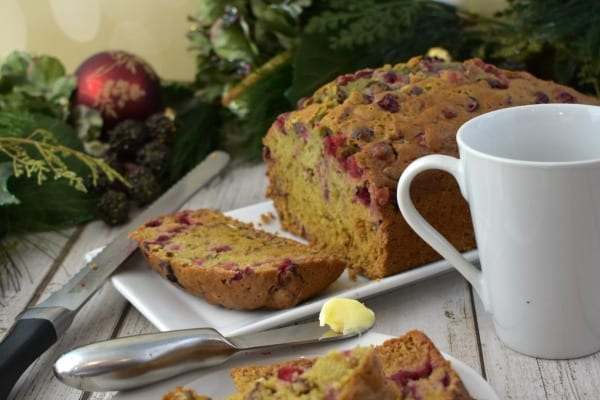 Easy Cranberry Orange Bread