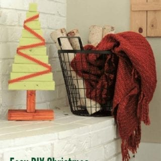 Easy DIY Christmas Tree Project
