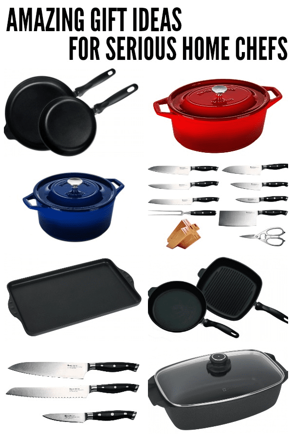 GIFT IDEAS FOR HOME CHEFS giveaway graphic
