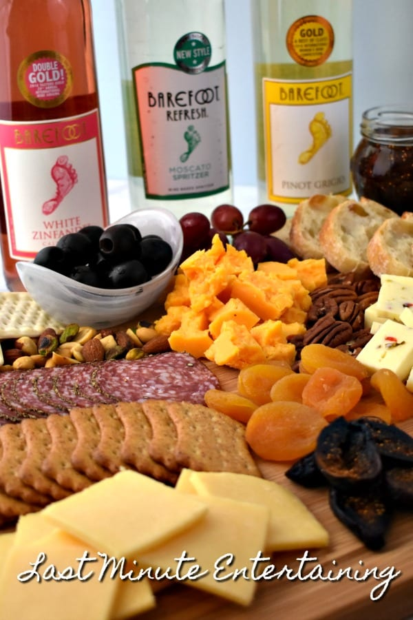 Last Minute Entertaining - Easy Meat and Cheese Platter